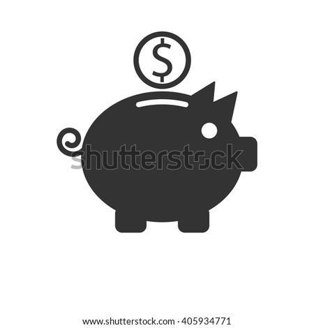 Piggy Bank Icon / Piggy Bank Icon Path / Piggy Bank Icon Image / Piggy Bank Icon File / Piggy Bank Icon UI / Piggy Bank Icon JPG / Piggy Bank Icon JPEG / Piggy Bank Icon EPS / Piggy Bank Icon AI - stock vector