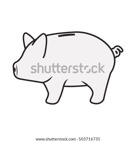 piggy moneybox icon