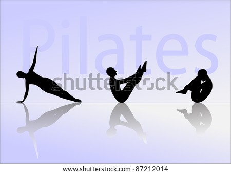 Pilates exercise include three postures