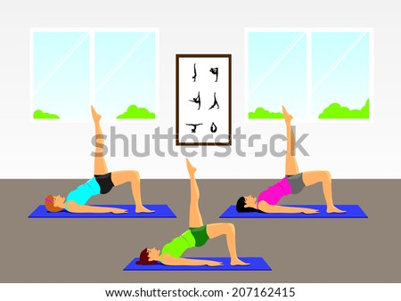 Pilates group exercise