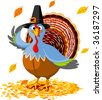 Pilgrim Turkey - stock vector