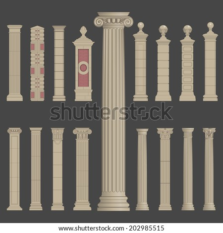 Pillars Stock Images Royalty Free Images Vectors Shutterstock