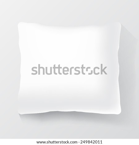 pillow - stock vector