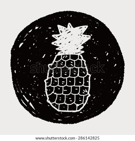 pineapple doodle