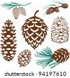 Pinecone Collection - stock