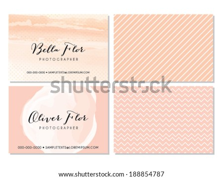 Pink business card template stock vector hd royalty free 188854787 pink business card template stock vector hd royalty free 188854787 shutterstock colourmoves