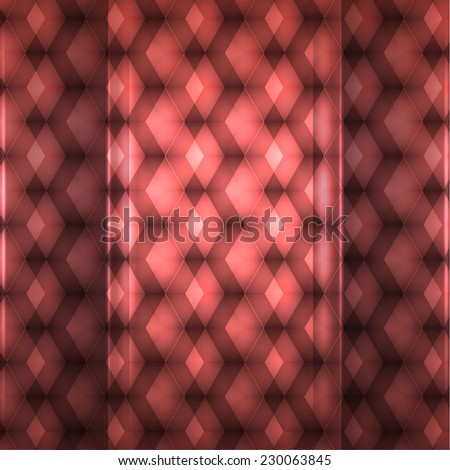 pink geometric pattern. abstract background. Vector illustration - stock vector