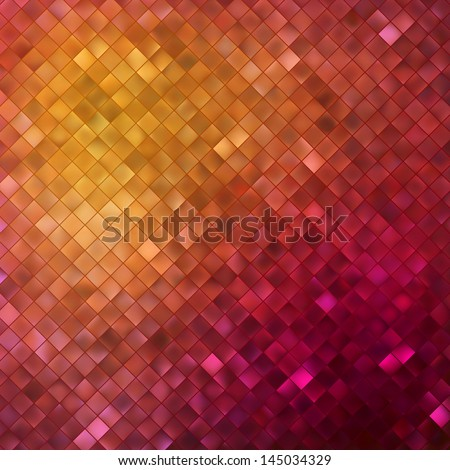 Pink glitters on a soft blurred background with smooth highlights. EPS 10 vector file included - stock vector
