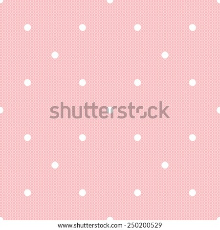 pink lace seamless texture - stock vector
