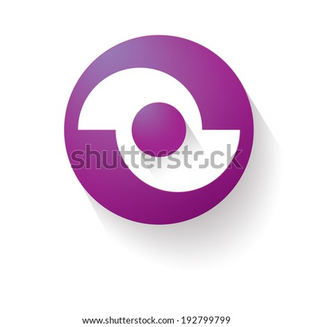Pink magenta edition of a scalable eps10 abstract geometric blank backgrounds with a circle shaped text or image field at the center for web, brochure, infographics, page layout template universal use - stock vector