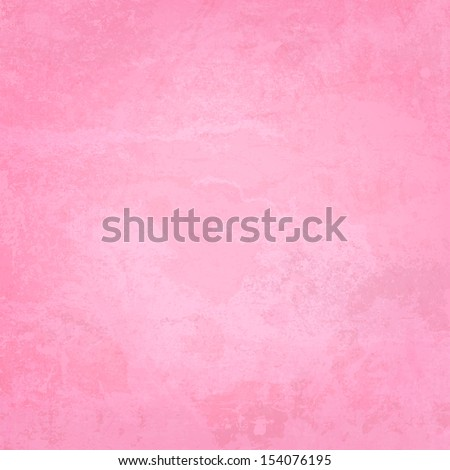 Pink Paper and Watercolor Textured Vector Background - stock vector