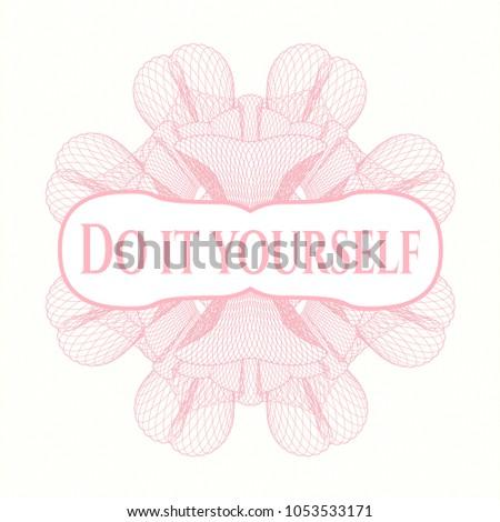Pink passport money rossete text do stock vector 1053533171 pink passport money rossete with text do it yourself inside solutioingenieria Images