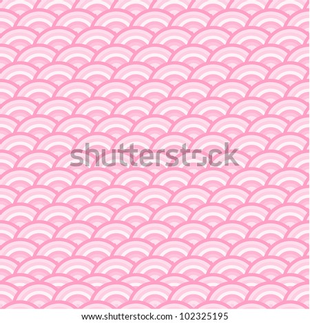 pink pattern - stock vector