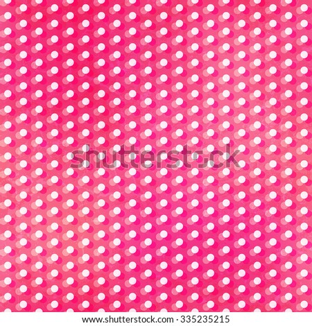 pink points seamless texture - stock vector