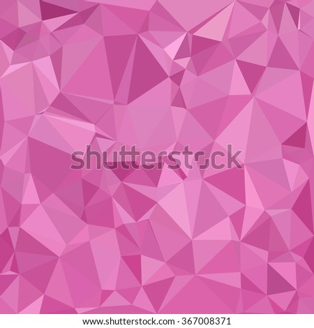 Pink Polygonal Mosaic Background, Creative Design Templates - stock vector
