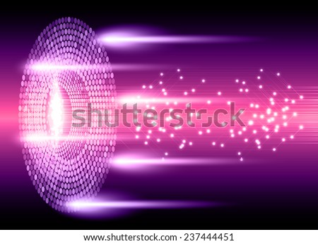 pink purple Light Abstract Technology background set for computer graphic website internet and business. text box.