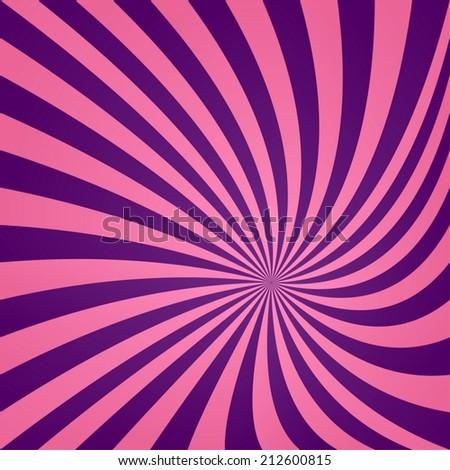 Pink purple vortex design - vector version - stock vector