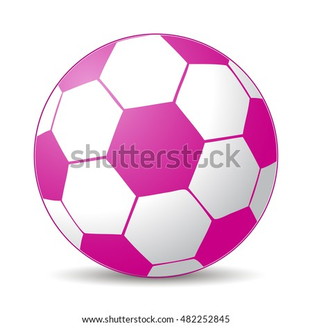pink soccer ball for girls game