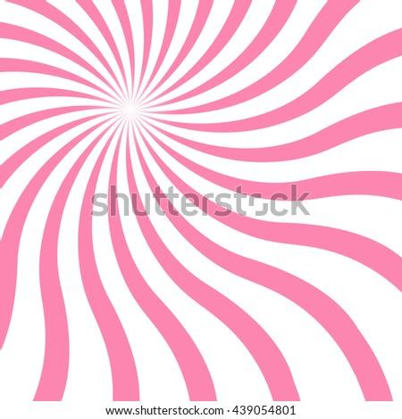 pink spiral lined pattern - stock vector