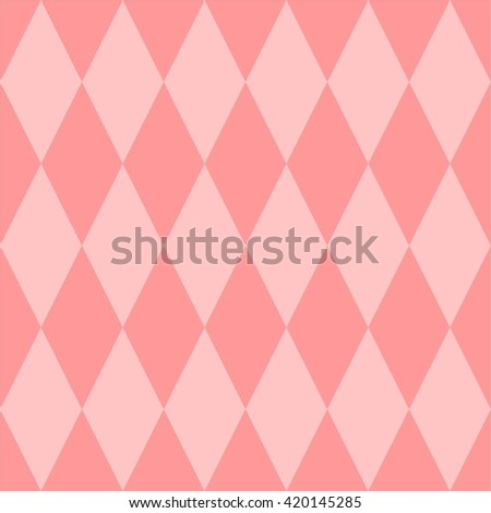 Pink vector tile pattern