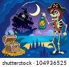 Pirate cove theme image 2 - vector illustration. - stock vector