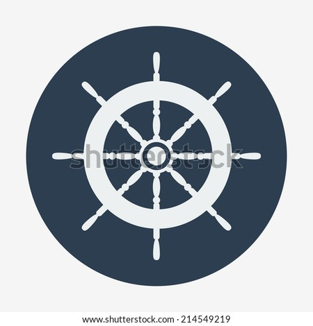 Pirate ship wheel drawings for Helm design