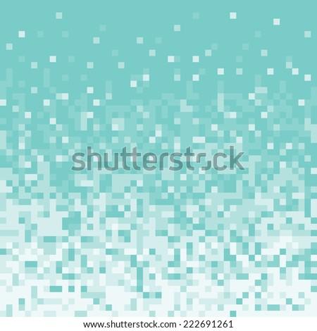 Pixel art style pixel background - stock vector
