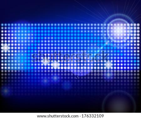 Pixels in a screen. Vector illustration. - stock vector