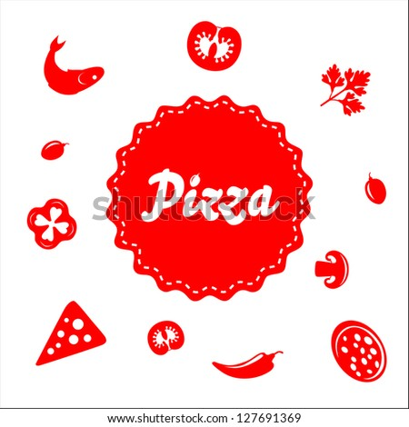 Pizza Packaging - stock vector