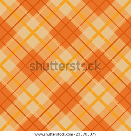 plaid thanksgiving seamless pattern, stripes patterns,  Pattern Swatches, vector, Endless texture can be used for wallpaper, pattern fills, web page,background,surface - stock vector