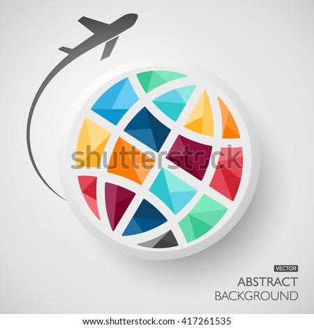 Plane Globe Icon. Plane Globe Icon Vector. Plane Globe Icon JPEG. Plane Globe Icon Object. Plane Globe Icon Picture. Plane Globe Icon Image. Plane Globe Icon Graphic. Plane Globe Icon Art - stock vector