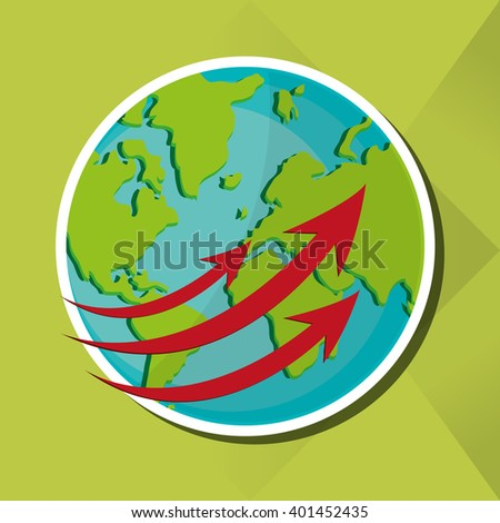 Planet design, Vector illustration - stock vector
