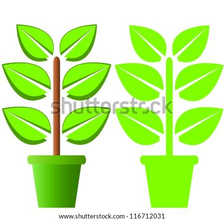Plant - stock vector