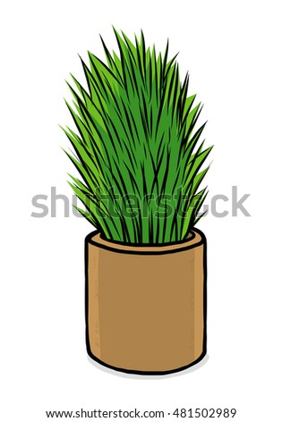 plant / cartoon vector and illustration, hand drawn style, isolated on white background.