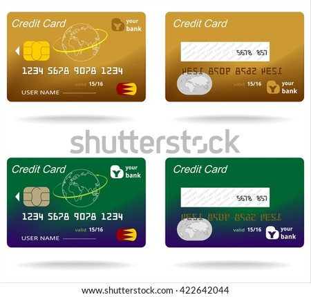 Plastic card business money commerce banking stock vector royalty plastic card business money commerce banking finance symbol electronic chip colourmoves