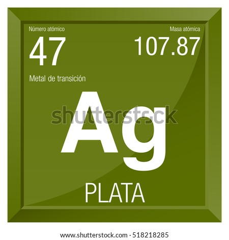 Gold symbol element number 79 periodic stock vector 518201125 plata symbol silver in spanish language element number 47 of the periodic table of urtaz Image collections