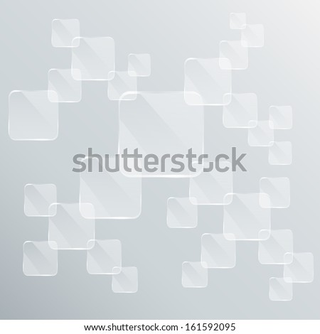 plates background - stock vector