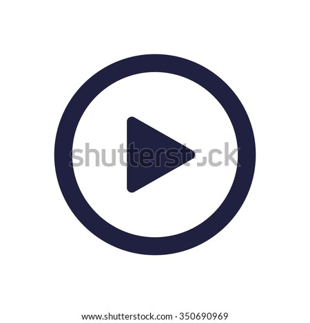 play Icon, play Icon Vector, play Icon JPG, play Icon JPEG, play Icon EPS, play Icon design - stock vector