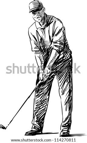 player - stock vector