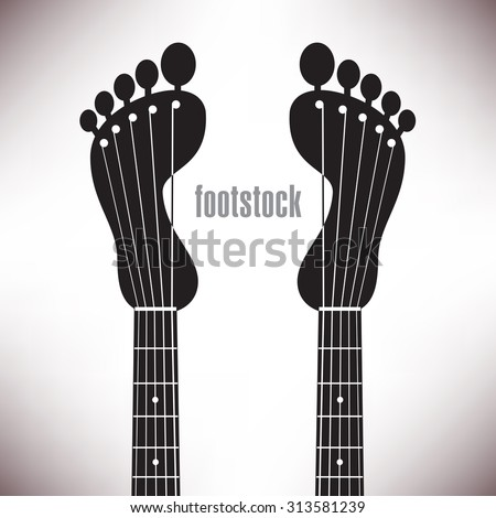 Playful and fun music background ideal for posters, brochures and flyers, as well as web use - stock vector