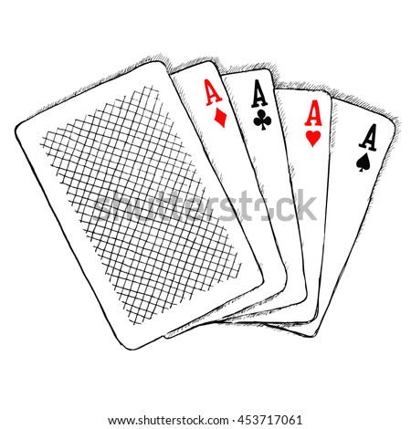 40 cards 4 are aces Probability of 1 ace when