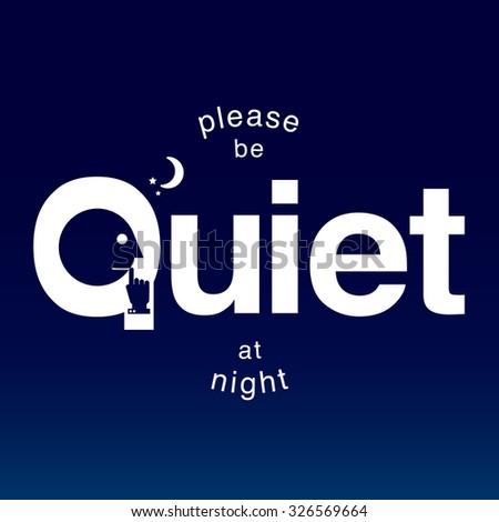 Graphic Design Quiet Please