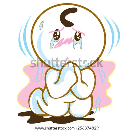 Please he said Help me ...I want this....or your love pantomime cartoon symbol design - stock vector