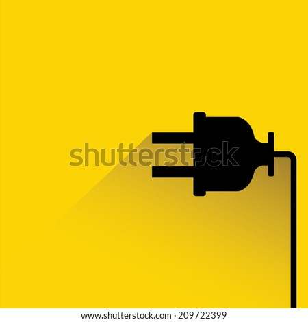 plug in - stock vector