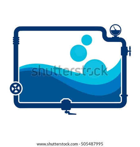 Plumbing Services illustration design business