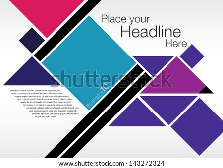Poester Design Layout Graphics Stock Vector 143272324 - Shutterstock