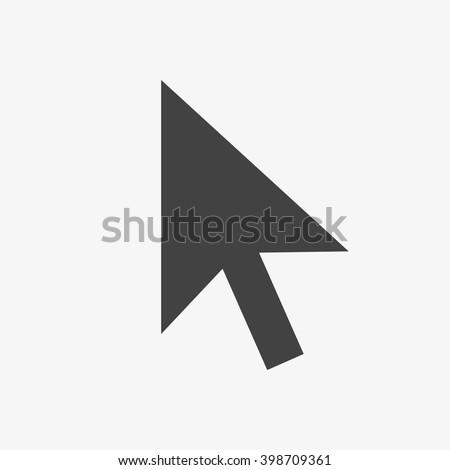 Pointer Icon, Pointer Icon Vector, Pointer Icon Flat, Pointer Icon Sign, Pointer Icon App, Pointer Icon UI, Pointer Icon Art, Pointer Icon Logo, Pointer Icon Web, Pointer Icon JPG, Pointer Icon EPS - stock vector
