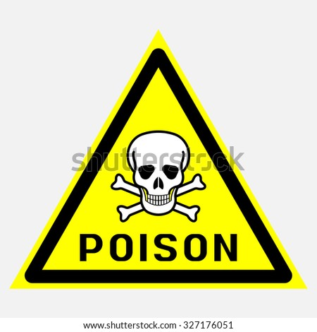 poison, toxic, toxic substances - stock vector