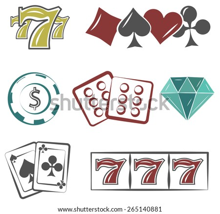poker and casino set