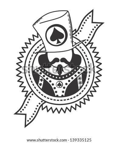 2 card poker logos kings